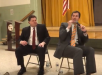 Crandell & Olszewski at Town Hall Meeting