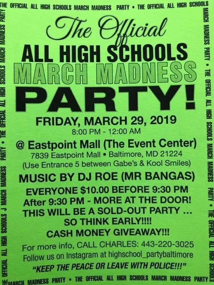 All High Schools Party